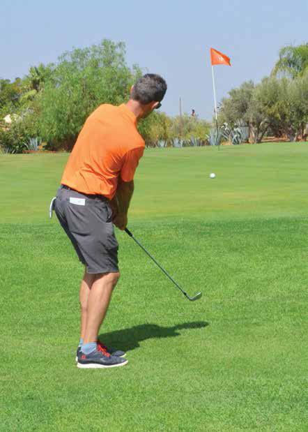 TECHnIQUE444-5 CHIP OU COUP LOBE AYEZ LABONNE APPROCHE Technique de Golf