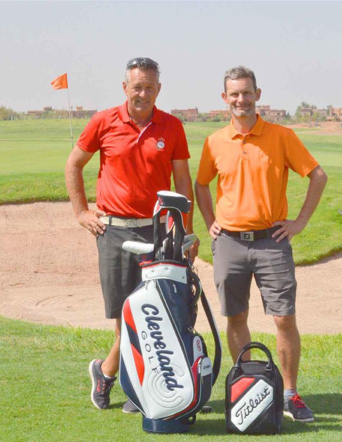 jmk-et-claud1 CHIP OU COUP LOBE AYEZ LABONNE APPROCHE Technique de Golf