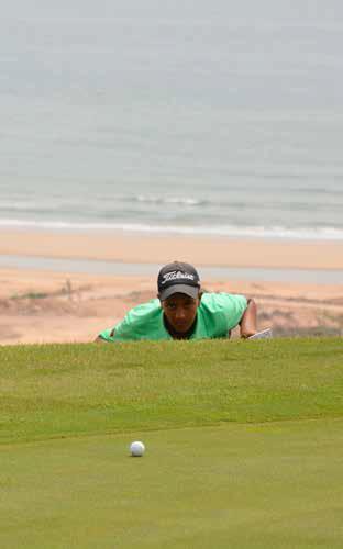 alignemet-put Sur les greens stop aux 3 putts Technique de Golf